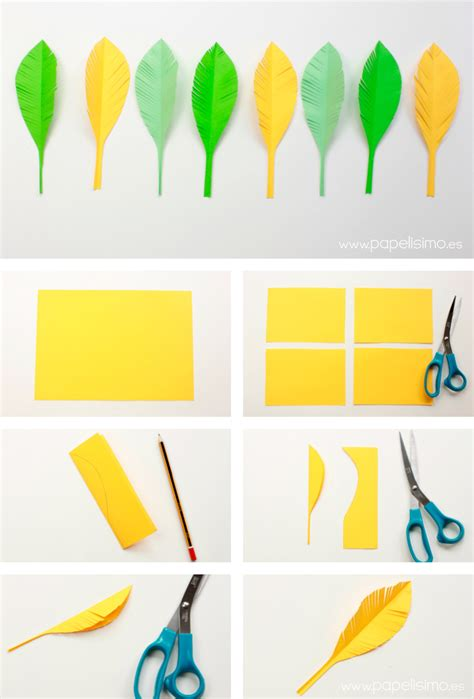 como hacer zapatillas de papel c 243 mo hacer plumas de papel papelisimo