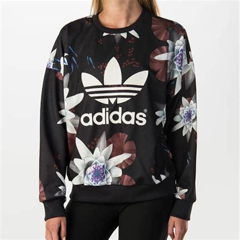Sweater Hoodie Zipper Adidas Trefoil Polyflex sweaters adidas