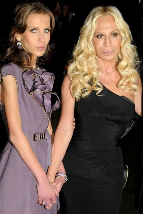Donatella Versaces Admitted To Hospital For Anorexia by Donatella Versace S So Needs Help Sheilacameron