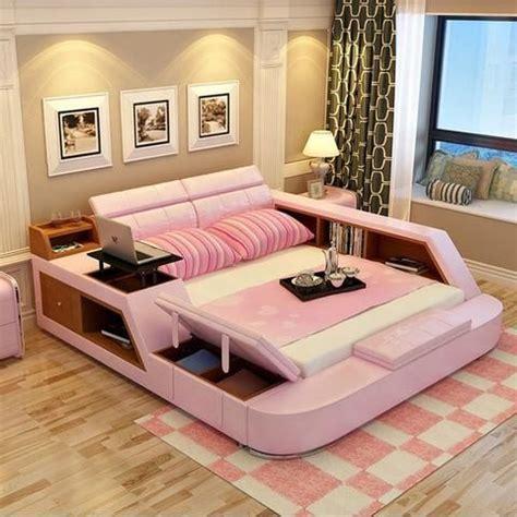 bedroom furniture sets modern leather queen size double bed frame loft bedrooms bedroom