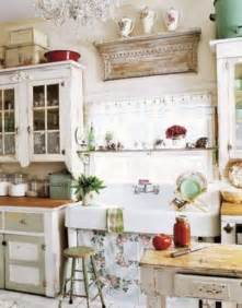 Shabby Chic Kitchen Cabinets Picture Of Charming Shabby Chic Kitchens That Youll Never Want To Leave