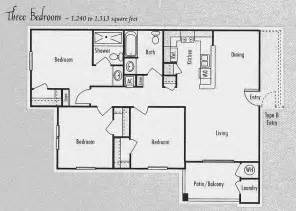 3 Bedroom 2 Bath Ranch Floor Plans by Bedroom Floor House Plans 3 Bedroom 2 Bathroom House Plans