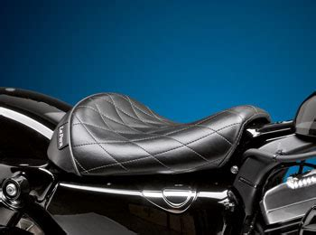sportster 48 le pera seat harley sportster seats for forty eight models by lepera