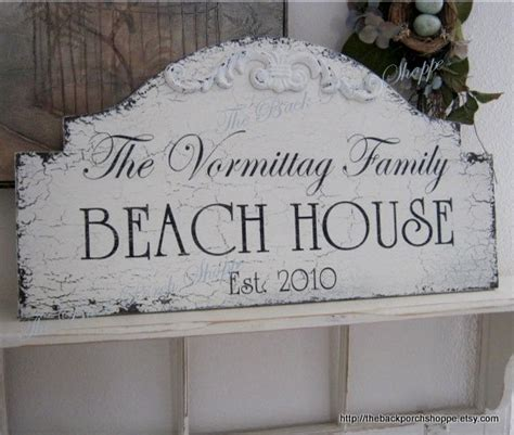 beach house signs beach house lake house signs cabin signs family signs 25 x