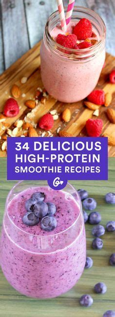 d protein ingredients 34 surprisingly delicious high protein smoothie recipes