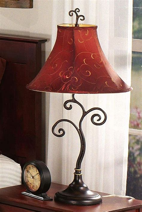 beautiful table lamps  living room home designing