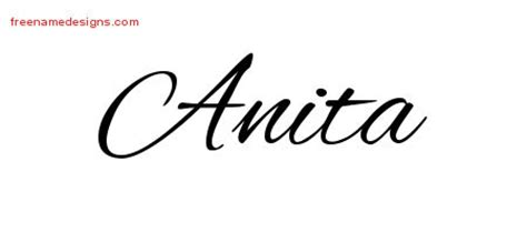 anita archives free name designs