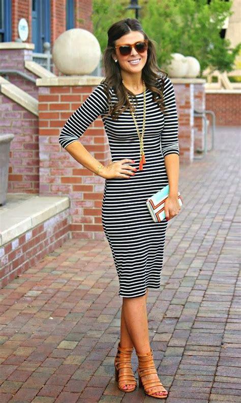 Striped Army Look Dress best 20 striped dress ideas on shift