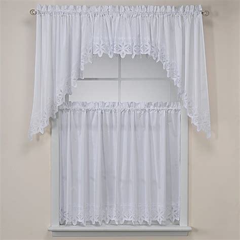 tier curtains for bathroom kaitlyn kitchen window curtain tiers bed bath beyond