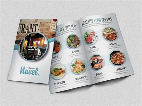 flyer design inspiration food restaurant brochure design exles for inspiration