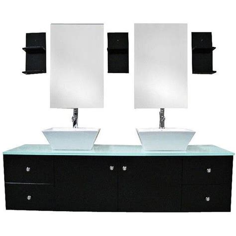 double wide bathroom sink portland espresso 61 quot wide double sink floating vanity set