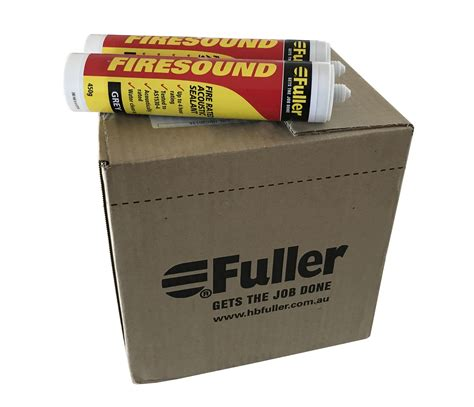 Bitacryl Sealant Gray 450 G hb fuller fuller firesound resistant silicone grey