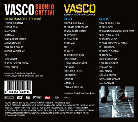 vasco album buoni o cattivi buoni o cattivi vasco modena park edition cd 2 dvd