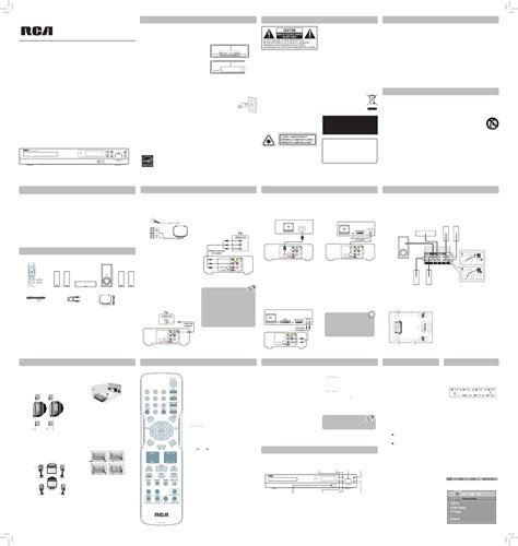 rca home theater system rtd317w user guide manualsonline