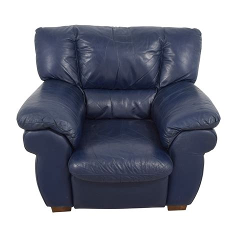 Leather Sofa Chairs by 90 Macy S Macy S Navy Blue Leather Sofa Chair Chairs