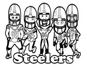 steelers coloring pages pittsburgh steelers logo coloring page sketch coloring page