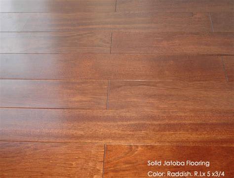 Solid Jatoba (Brazilian Cherry) Hardwood Flooring(id