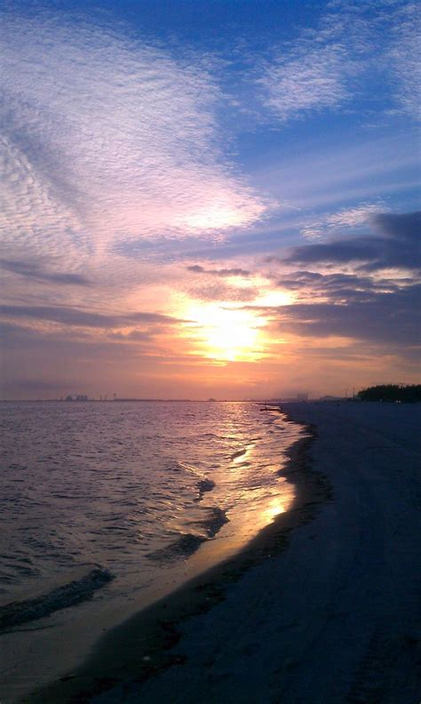 ms sunset gulfport mississippi sunset travel