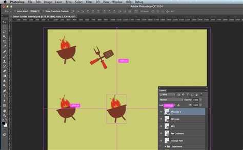 work with smart guides in photoshop adobe photoshop cc tutorials work with smart guides in photoshop adobe photoshop cc