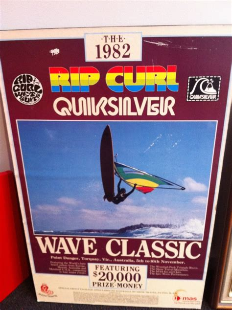 Tas Rip Curl Quiksilver 1982 rip curl quiksilver wave classic poster doubtou d wouldn t see those 2 companies co
