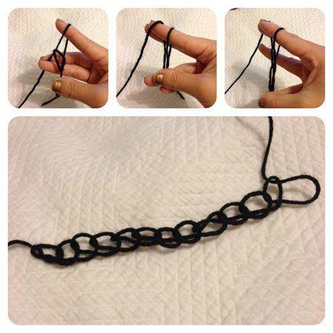 what to do with finger knitting chains finger crochet on finger crochet finger