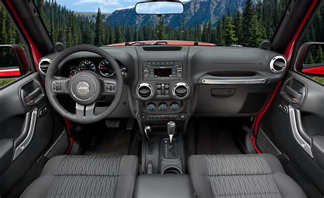 Inside Of Jeep Wrangler Unlimited Car And Driver