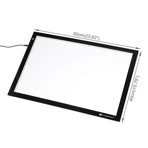 light board for tracing a2 led tracing light box stencil drawing board pattern