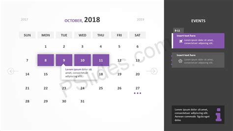2018 calendar template for powerpoint 2010 powerpoint templates calendar 2018 gallery powerpoint