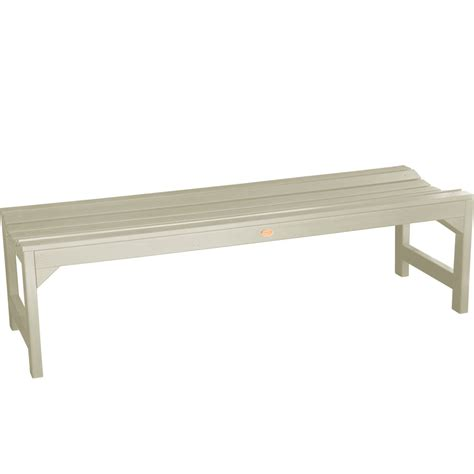 backless patio bench backless garden bench in outdoor benches
