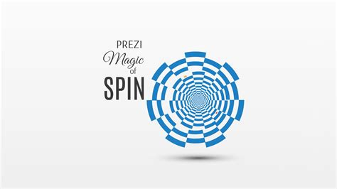 Magic Spinning Card Template by Prezi Template Magic Of Spin Preziland Preziland