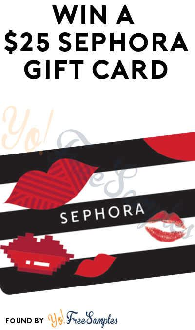 6pm Gift Card - ends 6pm win a 25 sephora gift card from yofree yo free sles