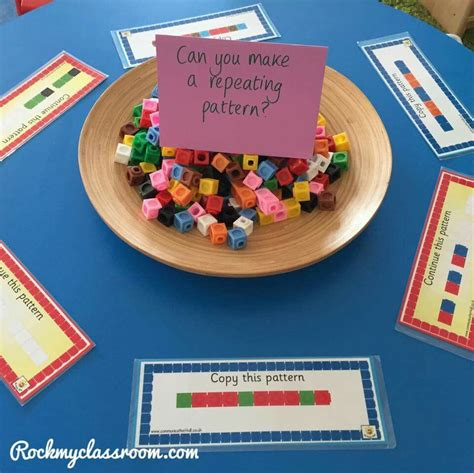 pattern activity ideas repeating patterns number pinterest repeating