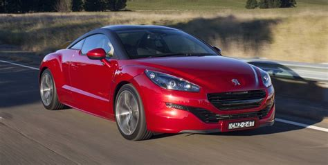 peugeot sports car price 2016 peugeot rcz australian price slashed to 49 990 drive