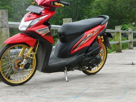 Honda Beat Fi Cw modifikasi motor new honda beat fi