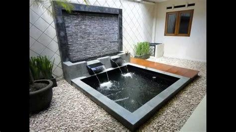ide desain air mancur kolam taman minimalis rumah minimalis youtube