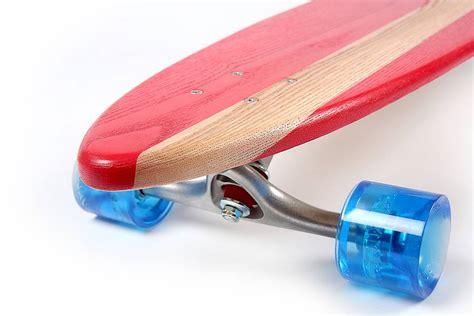 Handmade Skateboard - personalised handmade ash 70 s longboard by nudie boards