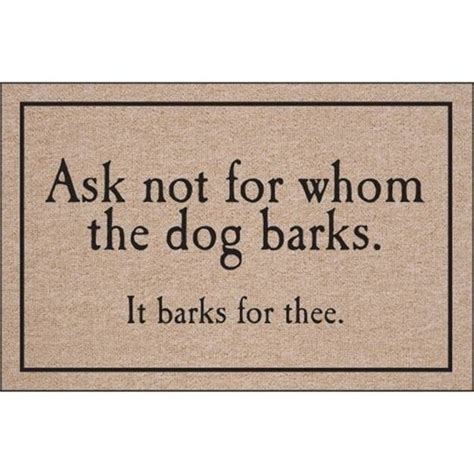 doormats with sayings reason to make our dogs bark doormat mat