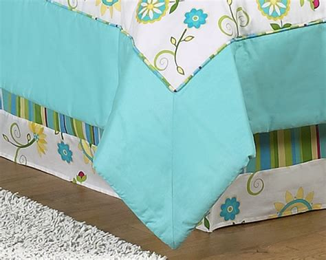 turquoise bed skirt queen bed skirt for turquoise and lime layla bedding sets