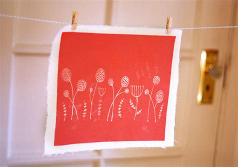 a diy fabric project using light sensitive dye how about orange