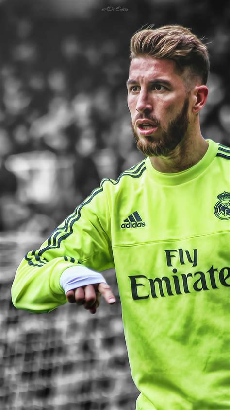 sergio ramos real madrid lockscreen wallpaper hd  adi