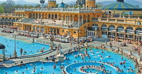 bagni gellert budapest budapest crociera sul danubio e bagni termali di