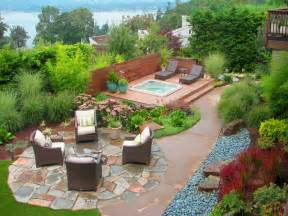 landscape ideas for backyards beautiful backyard landscaping designs modern building