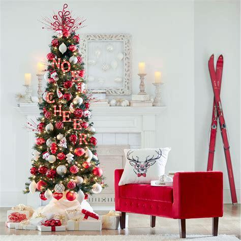brylane home christmas decorations 7 slim pre lit tree christmas trees brylanehome
