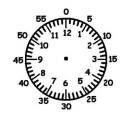 clock template for teaching time a teaching clock boy