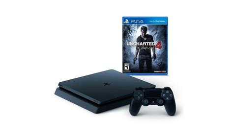 playstation 4 console deals sony playstation 4 slim 500gb console uncharted 4 bundle