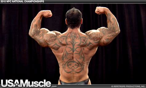 rich piana tattoos strength fighter rich piana workout