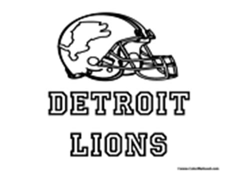 detroit lions coloring page detroit coloring pages coloring pages