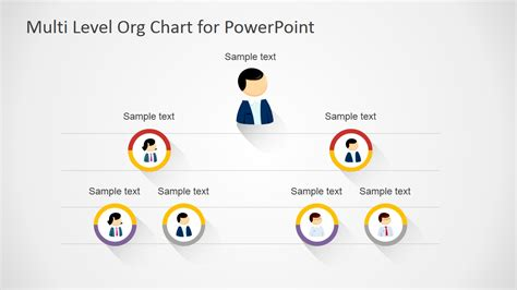 org chart template in powerpoint free multi level org chart for powerpoint slidemodel