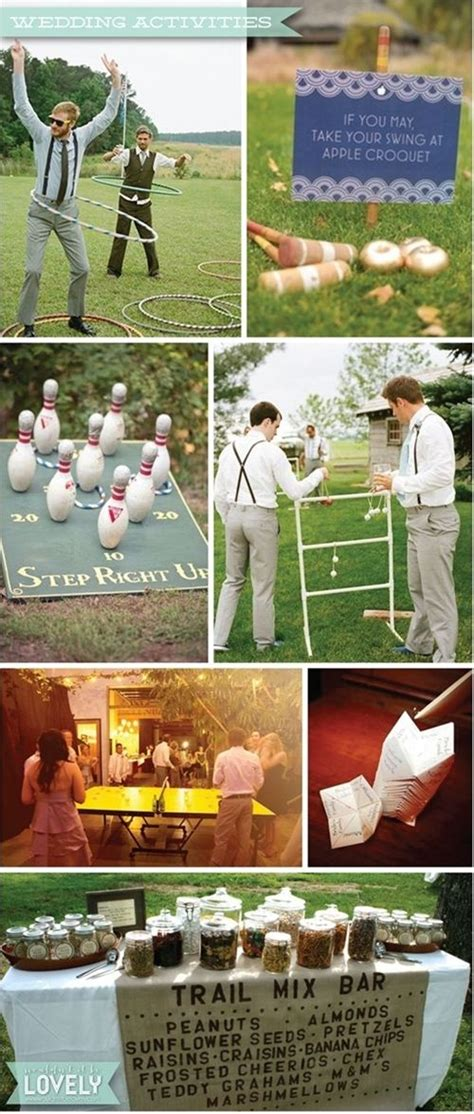 wedding venues outdoor activities and ideas for wedding and activities outdoor