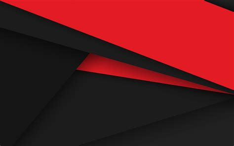 wallpaper black material android 5 lollipop red black abstract material design
